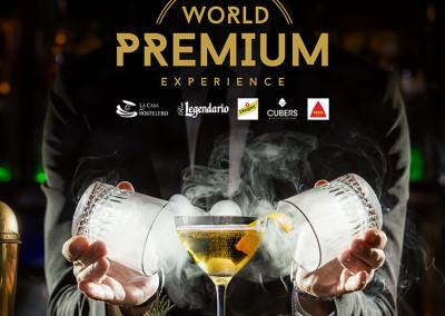 Diseño de Cartel Publicitario para World Premium Experience por MODO3