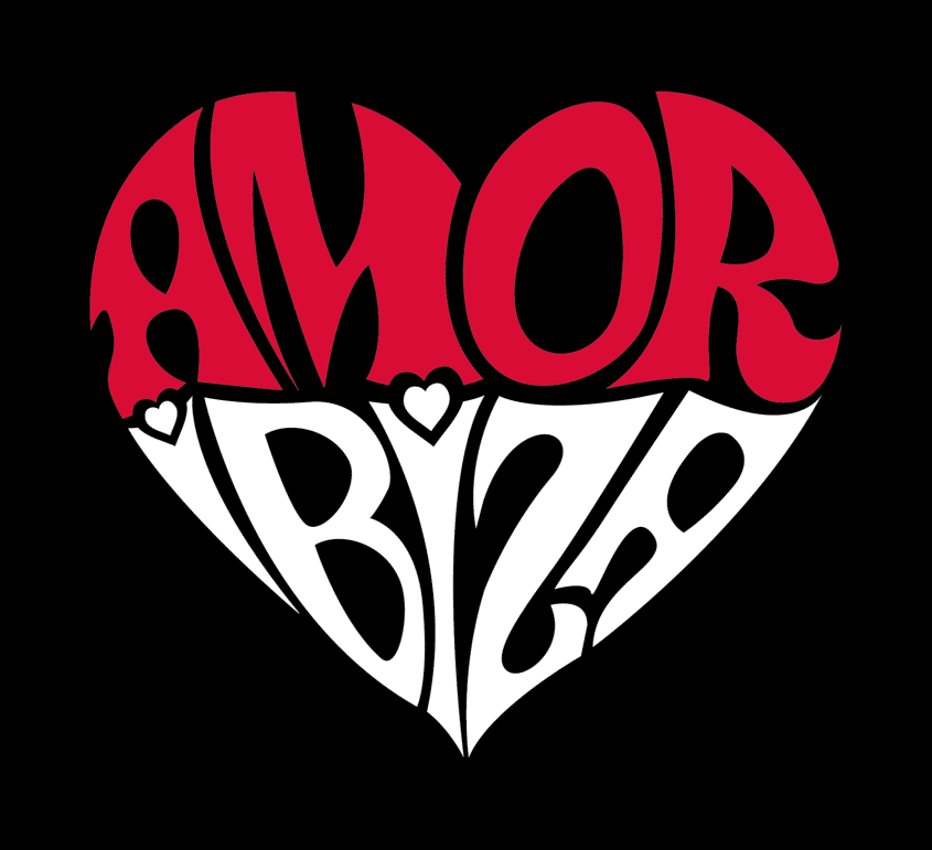 Diseño de marca Amor Ibiza por MODO3