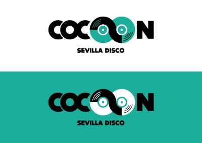 Diseño de marca Cocoon Disco Pub Sevilla por MODO3