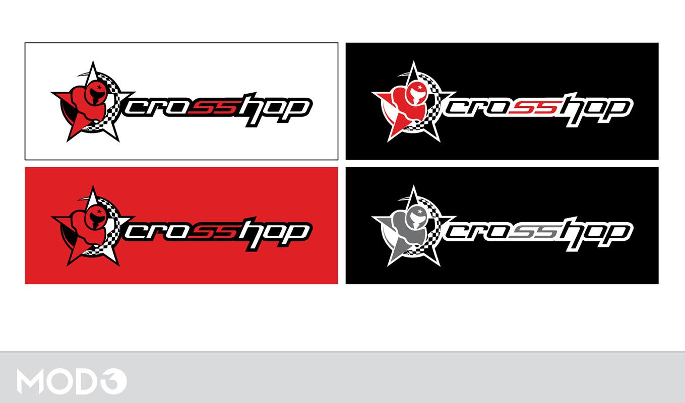 Diseño de marca Crosshop por MODO3