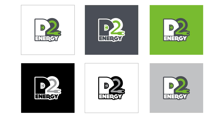 Diseño de marca D2 Energy por MODO3