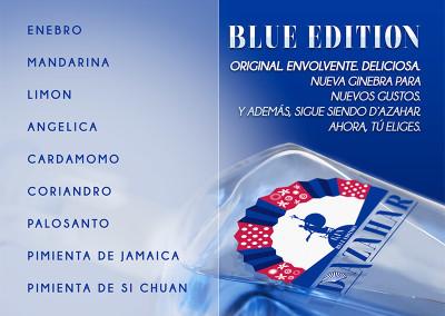 Diseño de D'Azahar Blue Edition Gin Premium para Drinks Drink por MODO3