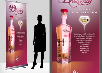 Diseño de RollUp para Drinks Drink por MODO3