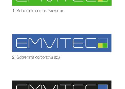 Diseño de marca para Emvitec por MODO3