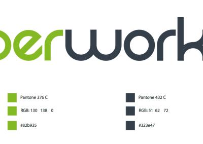 Diseño de marca IberWorks por MODO3