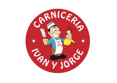Diseño de marca Carnicería Iván y Jorge por MODO3
