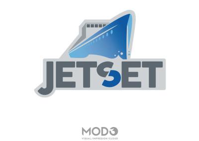 Diseño de marca JetSet por MODO3