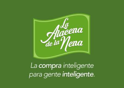 Diseño de marca La Alacena de la Nena por MODO3