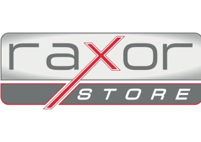 Diseño de marca RAXOR STORE por MODO3