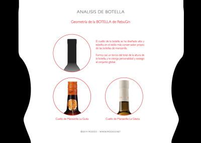 Diseño de Producto RebuGin para Drinks Drink por MODO3