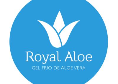 Diseño de marca ROYAL ALOE por MODO3