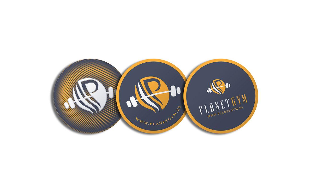 Diseño de Identidad Corporativa Planet Gym Gines por MODO3